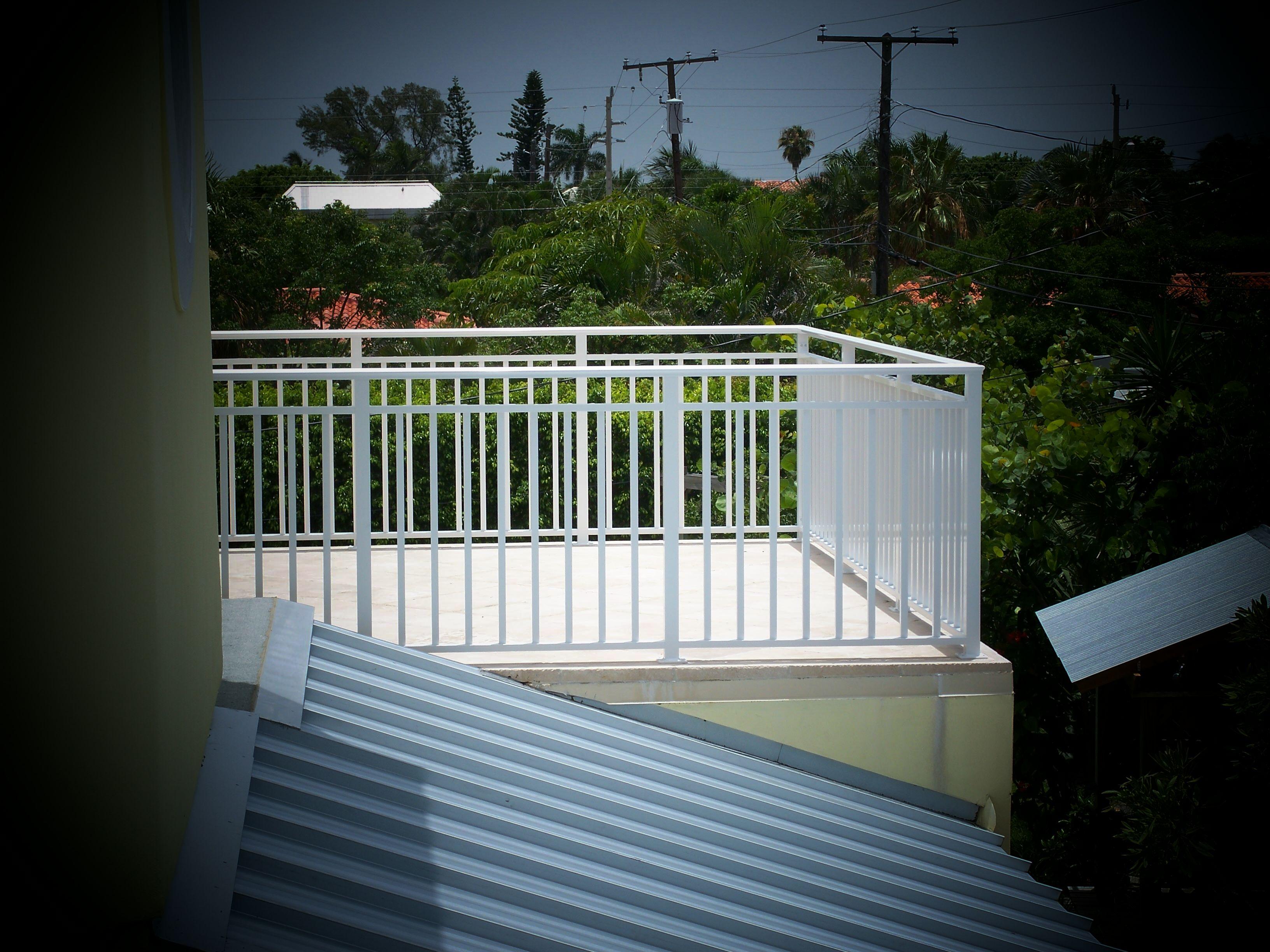 Virgin Islands Balcony Railing