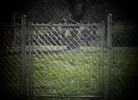 West Palm Beach Chainlink Fence Gate Installation