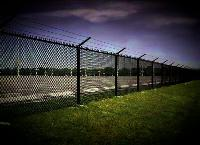 West Palm Beach Barbed Wire Chainlink Fence Installation